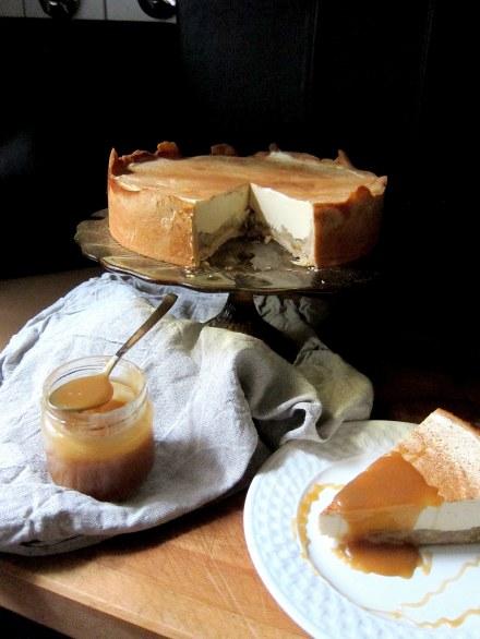 Apfelcheesecake