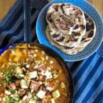 Sauerteignaan – dazu selbstgemachter Paneer in cremigem Curry