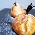 Maҫã folhada - Bratapfel im Blätterteigrock