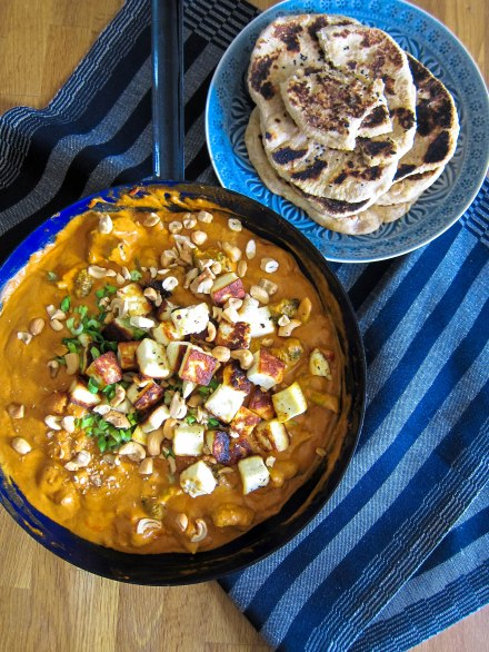 indisches Curry mit Paneer